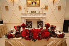 新郎新婦のメインテーブル!『高砂デコレーション』にこだわって素敵な披露宴を作りましょ♩にて紹介している画像