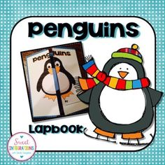 Penguins Lapbook; Penguin Interactive Lapbook; Arctic animalsWelcome to Sweet Integrations.Students can share what they have learned about penguins by creating their own lap book. These templates can also work for Interactive Notebooks. I have lots of templates to share.