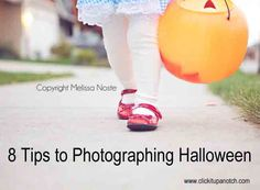 Photographing your Children at Halloween