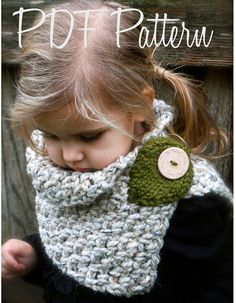 Crochet PATTERN-The Autumn Cowl Child Adult sizes