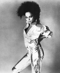 Diana Ross, photo by Francesco Scavullo