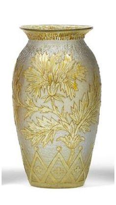 Vase by Wilhelm Kralik Sohn
