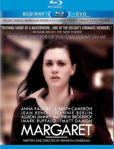 Margaret (Blu-ray/DVD, 2012, 2-Disc Set) Anna Paquin NEW    eBay