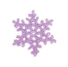 Free pattern for Crochet Snowflake: White Dew @ Lion Brand Yarn