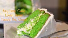 Key Lime Cake - Easter Never Tasted This Good | ShesGotFlavor