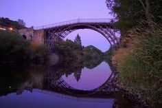 Ironbridge, UK. Birthplace of the Industrial Revolution, and home to many amazing museums :)