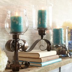 Candle holders from Pier One