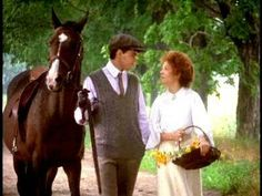 This is one of my favorite scenery parts-probably because Gil is leading a horse! :) I mean, that's just perfect!