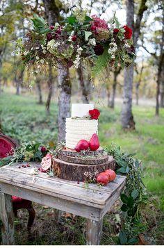 rustic and elegant wedding inspirations - photo: Nikita Lee | www.hochzeitsguide.com