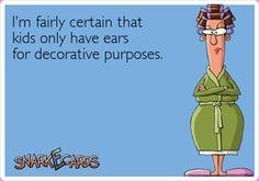 Kid's ears