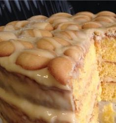 Savory magic cake with roasted peppers and tandoori - Clean Eating Snacks Southern Banana Pudding, Homemade Banana Pudding, Banana Pudding Recipes, Banana Pudding Pound Cake Recipe, Baked Banana Pudding, Chocolate Banana Pudding, Pudding Ideas, Banana Dessert Recipes, Chocolate Trifle