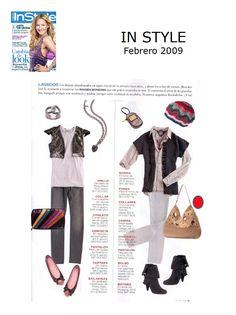 #Colaboración con la #Revista In Style. Febrero 2009.