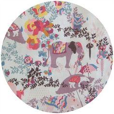Lucky Elephant fabric with bonus tapir umbrella!