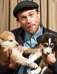Charlie and puppies