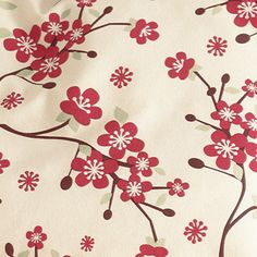 Cherry Blossom Sheets, Really Want.