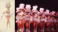 "Talk about a show-stopping look! #Rockettes jingle in this ""Elves and Belles"" costume from 1974. #WardrobeWednesday"