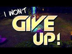 """""""I Won't Give Up."""""""