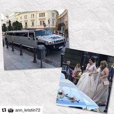 Bryllup #reiseliv #reiseblogger #reisetips #reiseråd  #Repost @ann_kristin72 (@get_repost)  Kom over en limosin og et brudepar i nærheten av hotellet vårt.