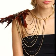 Feather body jewelry