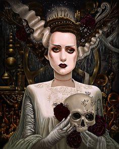 Bride of Frankenstein by Mia Araujo