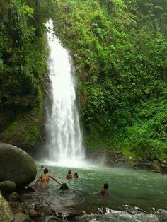 cascade de Didier Martinique