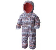 Dětská zimní kombinéza Columbia Snuggly Bunny Bunting 508 Bluebell
