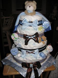 Diaper Cakes | Diaper Cakes, A practical gift for any Expectant Parents
