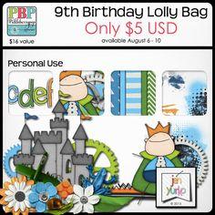 Lolly Bag 1 - PU {by Jen Yurko}