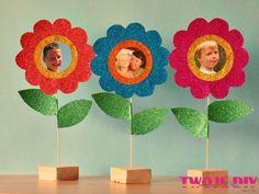 Kwiatki dla mamy na Dzień Matki Flowers for mom mother's Day Tutorial na twojediy.pl