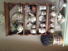 Emma Bridgewater Sarah Raven's Dahlia, Clover, SweetPea, 2013 year jug and Nicholas Mosse pottery
