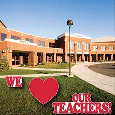 We Love Our Teachers Yard Card - 3 pcs w/7 stakes Victory... https://www.amazon.com/dp/B0711737BW/ref=cm_sw_r_pi_dp_x_Z86azbKKHG738