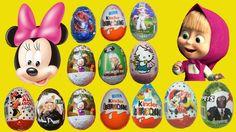 15 Киндер сюрпризов - Маша и Медведь, Микки Маус, Звёздные войны, Kinder Surprise Eggs, Surprise Eggs, ?????? ???????, Hello, Mickey, spiderman, star wars, pocoyo, transformers, batman, shrek, dora the explorer,  cars, angry birds, barbie, iron man, princess, winx club, toy story,