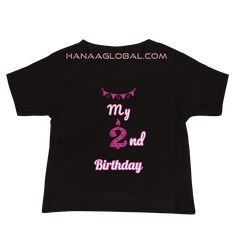 My 2nd birthday Baby Girl Premium Tee | Bella + Canvas 3001T Make your baby feel extra special on her birthday with this cute design. 100% COMBED AND RING-SPUN COTTON* FABRIC WEIGHT: 4.2 OZ (142 G/M2) PRE-SHRUNK FABRIC Bella Canvas, Spun Cotton, Cute Designs, Fabric Weights, 2nd Birthday, Celebrations, Cotton Fabric, Ring, Tees