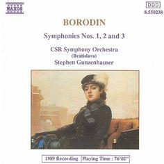 Borodin: Symphonies Nos. 1, 2 and 3 - Naxos CD. £6.95
