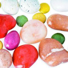 pietre confettate di albicocche secche, cioccolato e marzapane   www.dolcementeweb.com