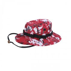 Rothco Camouflage Boonie Hat - Red Digital Camo