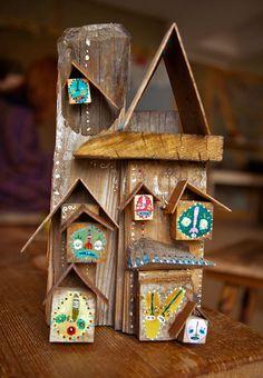 """Kaj"" Acrilic paint on wood. Painting On Wood, Advent Calendar, Holiday Decor, Home Decor, Decoration Home, Room Decor, Interior Design, Home Interiors, Interior Decorating"