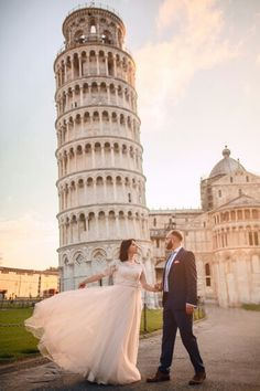 Pisa / Italy Our wedding photo session ♡