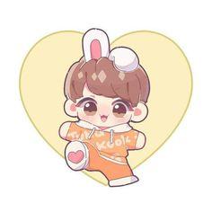 Ahh my baby KOokie 😍😍😘😘 Bts Cute, Jungkook Cute, Bts Jimin, Chibi Boy, Bts Chibi, Anime Chibi, Vkook Fanart, Jungkook Fanart, Baby Drawing