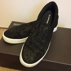 Black Lace AirWalk shoes Black Lace AirWalk shoes...worn once!! Stylish and very comfortable! Shoes