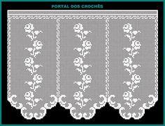 Crochet Curtains, Crochet Quilt, Crochet Chart, Crochet Home, Crochet Doilies, Crochet Stitches, Crochet Mandala Pattern, Vintage Crochet Patterns, Fillet Crochet