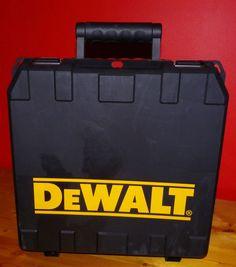 Dewalt DCK266L Hard Plastic Hammerdrill & Impact Driver Case Dewalt Tool Case #DeWALT