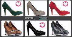 #moda #koketa #fashion #shoes Τα ψηλά τακούνια είναι η έμπνευσή μας!