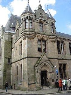 Dunfermline Carnegie Library, Scotland