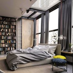 Bom domingo com este quarto top de Ruslan Kovalchuk (www.inandoutdecor.com.br) #inandoutdecor // Good Sunday with this top bedroom by #ruslankovalchuk by inandoutdecor