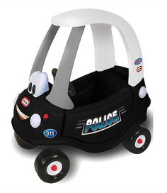 Pedal Ride-Ons - LITTLE TIKES POLICE CAR. Visit our website - www.playful-elves.com.sg - for more details.