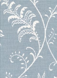 Albery Floral in Sky Blue FM4641
