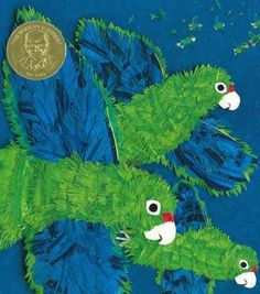 Parrots over Puerto Rico by Susan Roth
