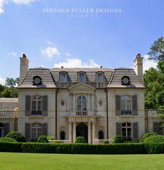 Arrival Facade - traditional - exterior - atlanta - Stephen Fuller Designs