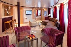 Seabourn Cruises Accommodation
